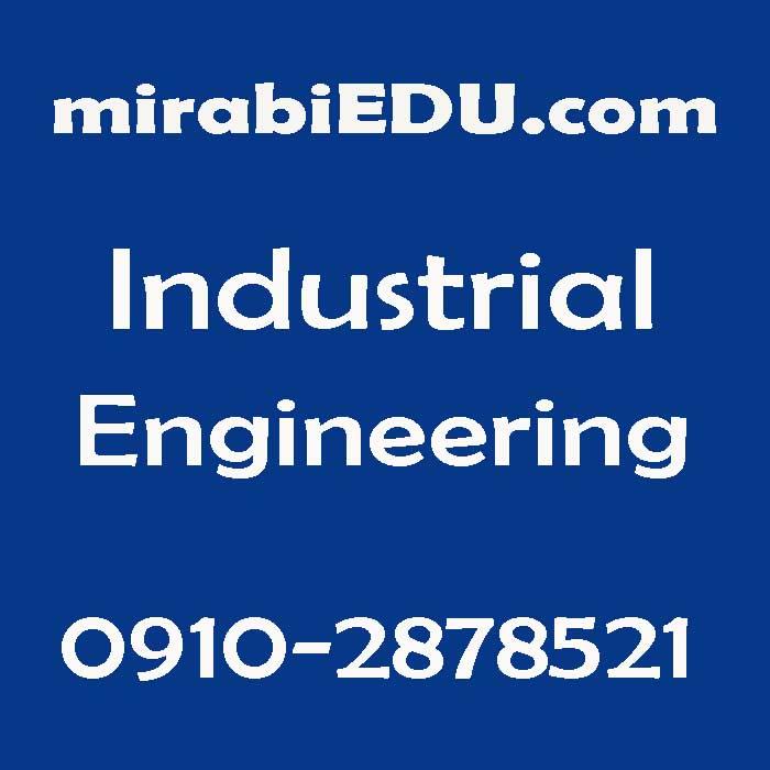 حل پروژه مهندسی صنایع