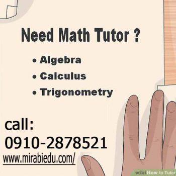 آموزش ریاضی به زبان انگلیسی