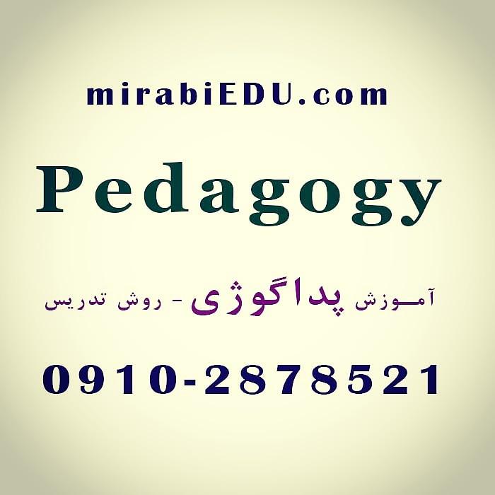 تدریس خصوصی پداگوژی